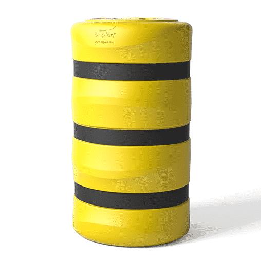 Säulenschutz Pfeilerschutz KP boplan® Flex impact® für 300x300mm Säule, gelb