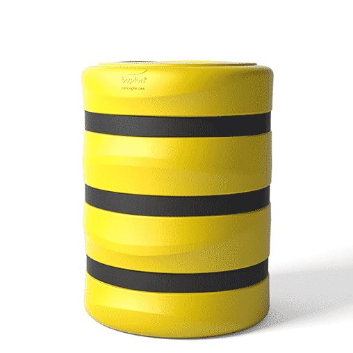 Säulenschutz Pfeilerschutz KP boplan® Flex impact® für 400x400mm Säule, gelb