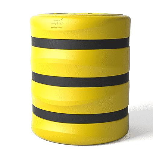 Säulenschutz Pfeilerschutz KP boplan® Flex impact® für 500x500mm Säule, gelb