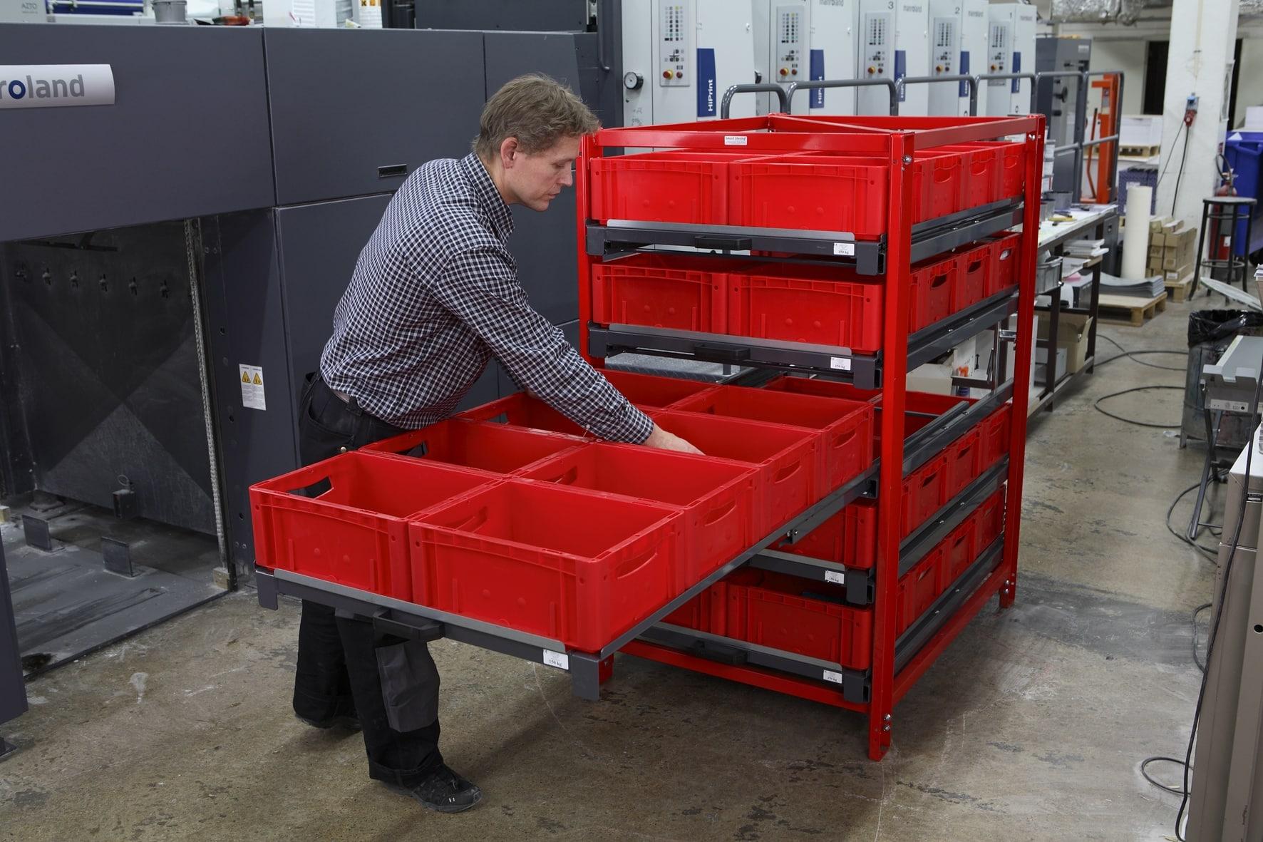 Schubladen Auszugregal von Bonnema online kaufen bei Kauf-dein-Regal.de