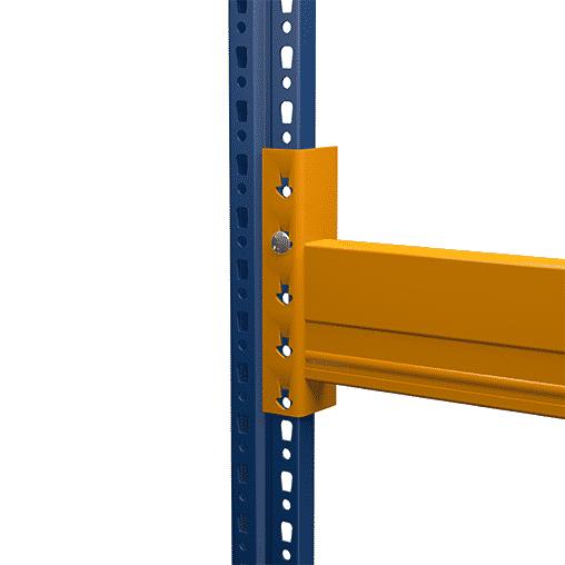 NEDCON Traverse inkl. Sicherungsstift Typ CC 1104015 A, Höhe 110 mm, Breite 2700 mm, Tiefe 40 mm