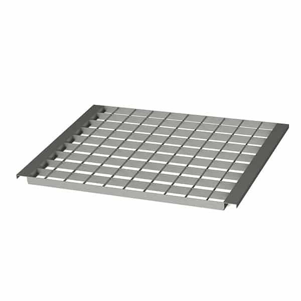 NEDCON Gitterrost, Regalboden 890 x 1.106 mm (BxT) – 500 kg/m² Traglast