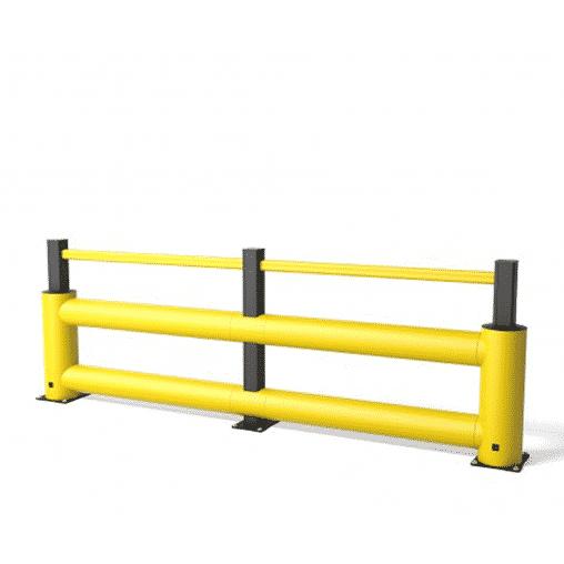 Rammschutz für Gabelstapler an Regalen von boplan