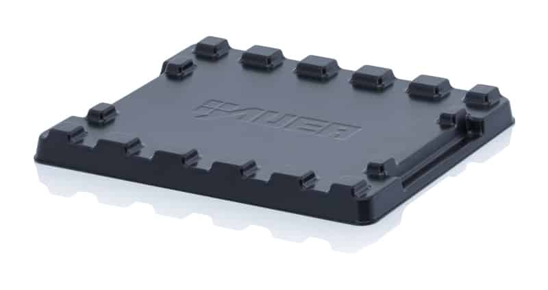 Stülpdeckel für Mehrwegbehälter 42 x 30,5 cm AUER packaging