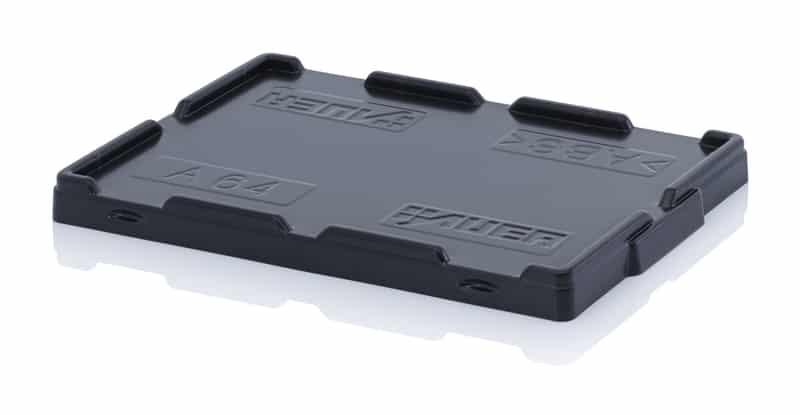 Stülpdeckel für Eurobehälter / Eurobox 62,5 x 40,5 cm AUER packaging