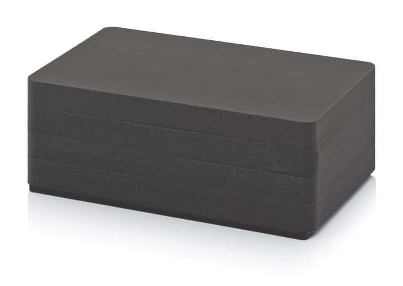 Würfelschaumpolster Schutzkoffer 4x CP SEWW 64 1x CP SEBW 64 AUER packaging