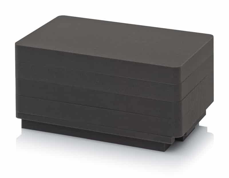 Würfelschaumpolster Schutzkoffer 5x CP SEWW 64 1x CP AB6433 AUER packaging