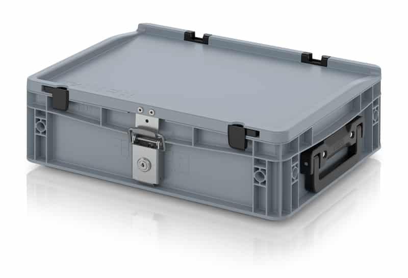 Eurobehälter / Eurobox Koffer mit Verschließsystem 2G 40 x 30 x 13,5 cm AUER packaging