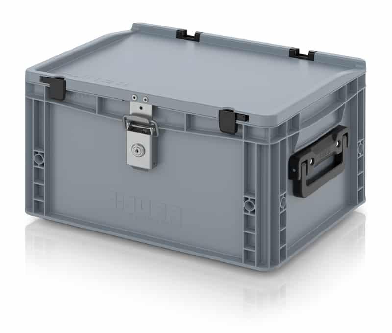 Eurobehälter / Eurobox Koffer mit Verschließsystem 2G 40 x 30 x 23,5 cm AUER packaging