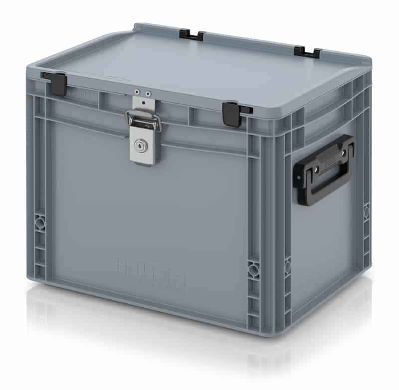 Eurobehälter / Eurobox Koffer mit Verschließsystem 2G 40 x 30 x 33,5 cm AUER packaging