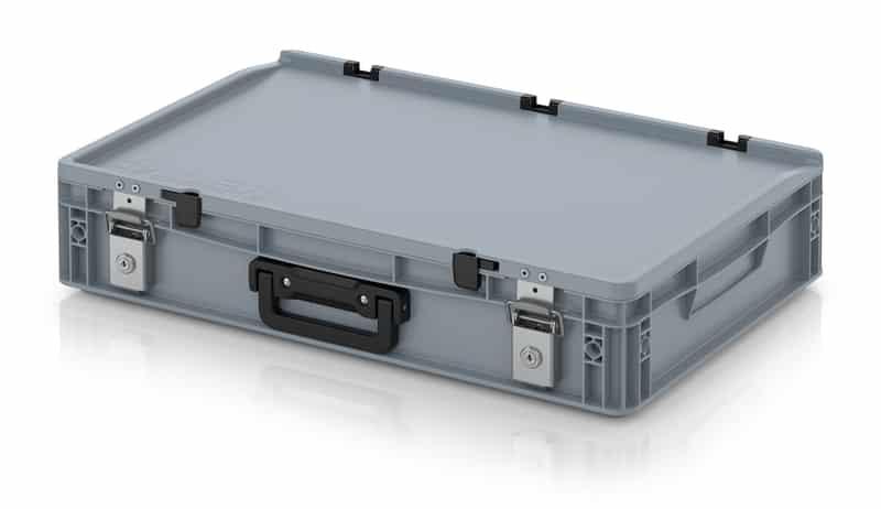 Eurobehälter / Eurobox Koffer mit Verschließsystem 1G 60 x 40 x 13,5 cm AUER packaging