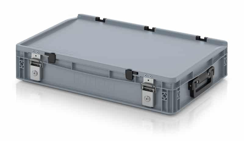 Eurobehälter / Eurobox Koffer mit Verschließsystem 2G 60 x 40 x 13,5 cm AUER packaging