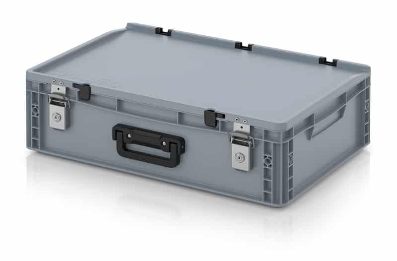 Eurobehälter / Eurobox Koffer mit Verschließsystem 1G 60 x 40 x 18,5 cm AUER packaging