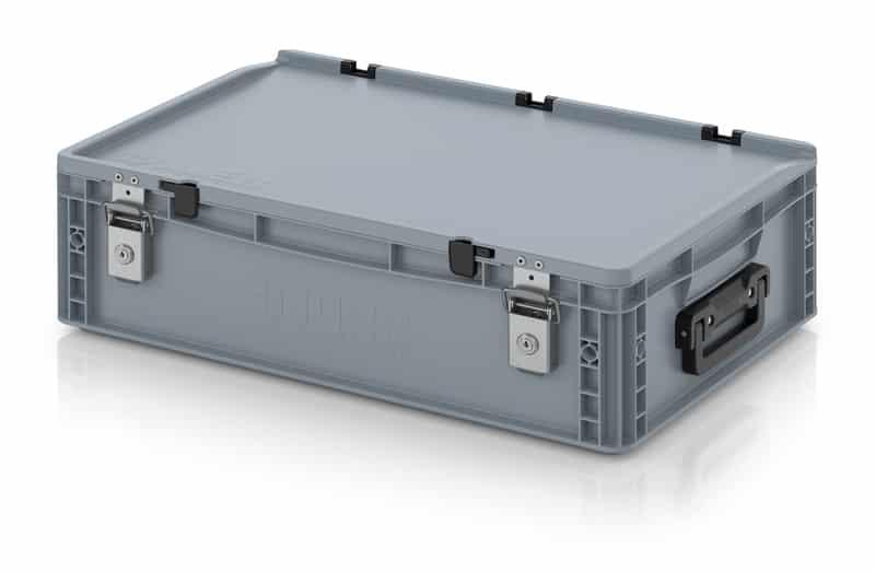 Eurobehälter / Eurobox Koffer mit Verschließsystem 2G 60 x 40 x 18,5 cm AUER packaging