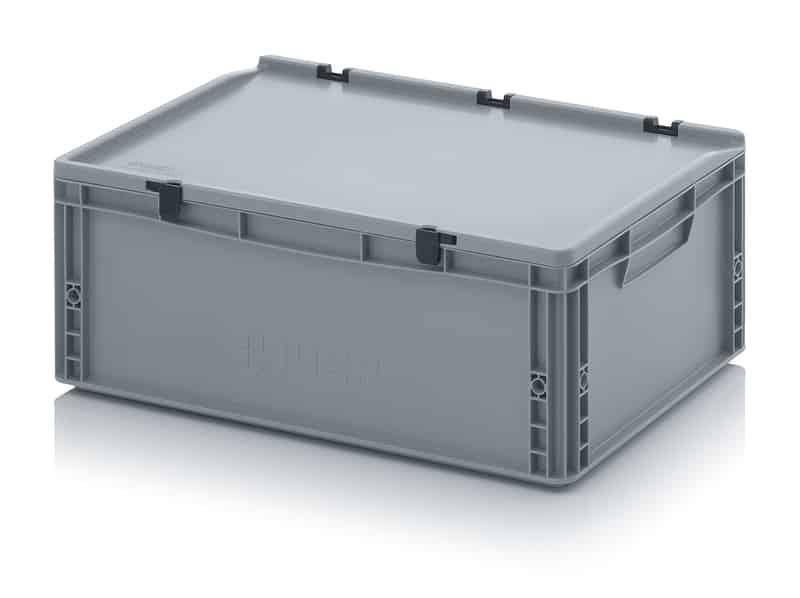 Eurobehälter / Eurobox mit Scharnierdeckel 60 x 40 x 23,5 cm AUER packaging