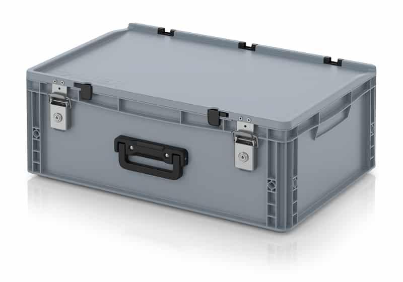 Eurobehälter / Eurobox Koffer mit Verschließsystem 1G 60 x 40 x 23,5 cm AUER packaging