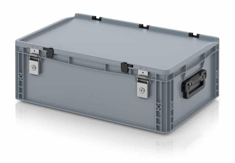 Eurobehälter / Eurobox Koffer mit Verschließsystem 2G 60 x 40 x 23,5 cm AUER packaging