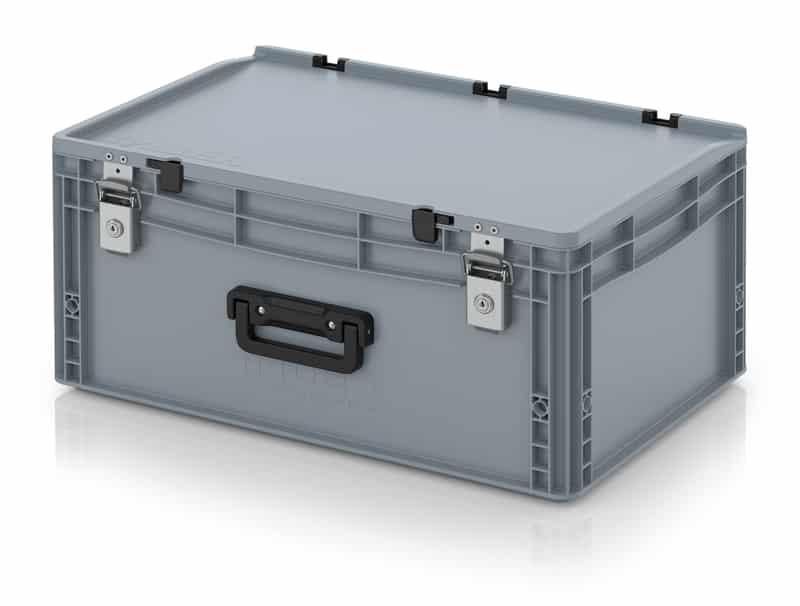 Eurobehälter / Eurobox Koffer mit Verschließsystem 1G 60 x 40 x 28,5 cm AUER packaging