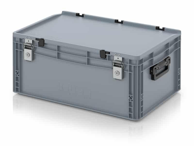 Eurobehälter / Eurobox Koffer mit Verschließsystem 2G 60 x 40 x 28,5 cm AUER packaging