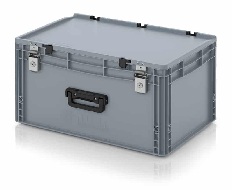 Eurobehälter / Eurobox Koffer mit Verschließsystem 1G 60 x 40 x 33,5 cm AUER packaging