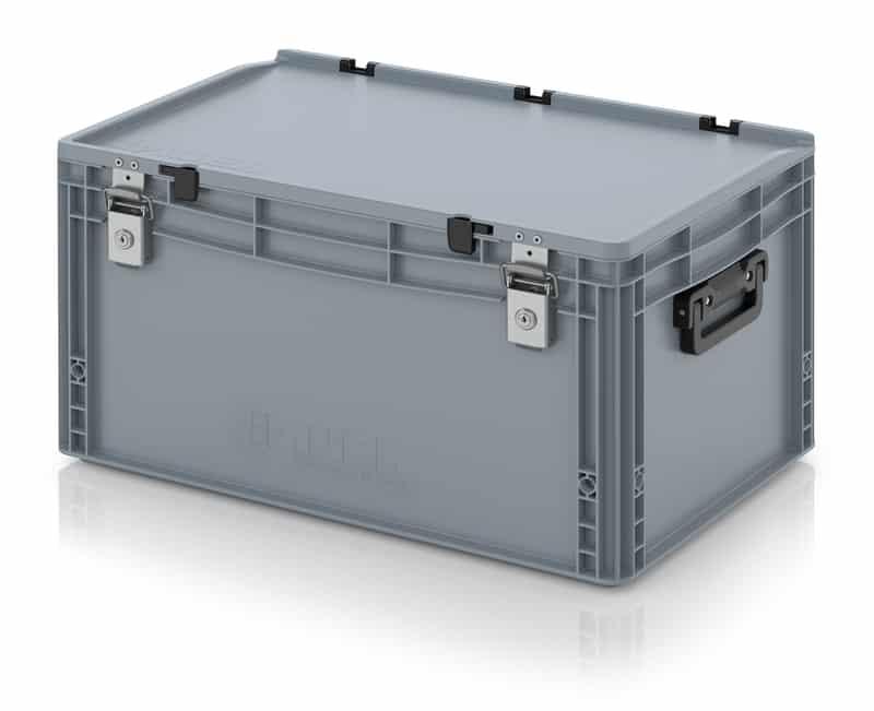 Eurobehälter / Eurobox Koffer mit Verschließsystem 2G 60 x 40 x 33,5 cm AUER packaging