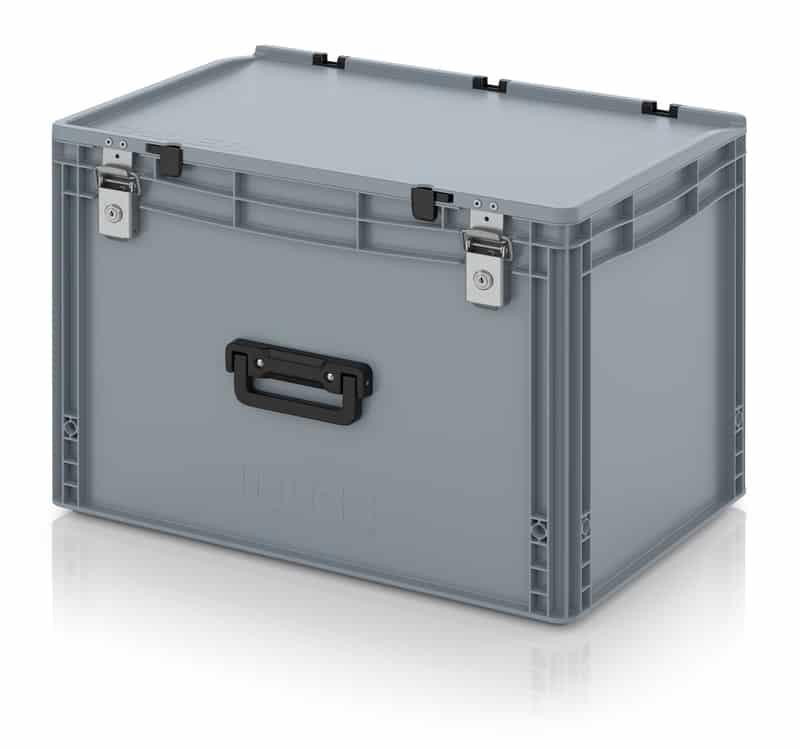 Eurobehälter / Eurobox Koffer mit Verschließsystem 1G 60 x 40 x 43,5 cm AUER packaging