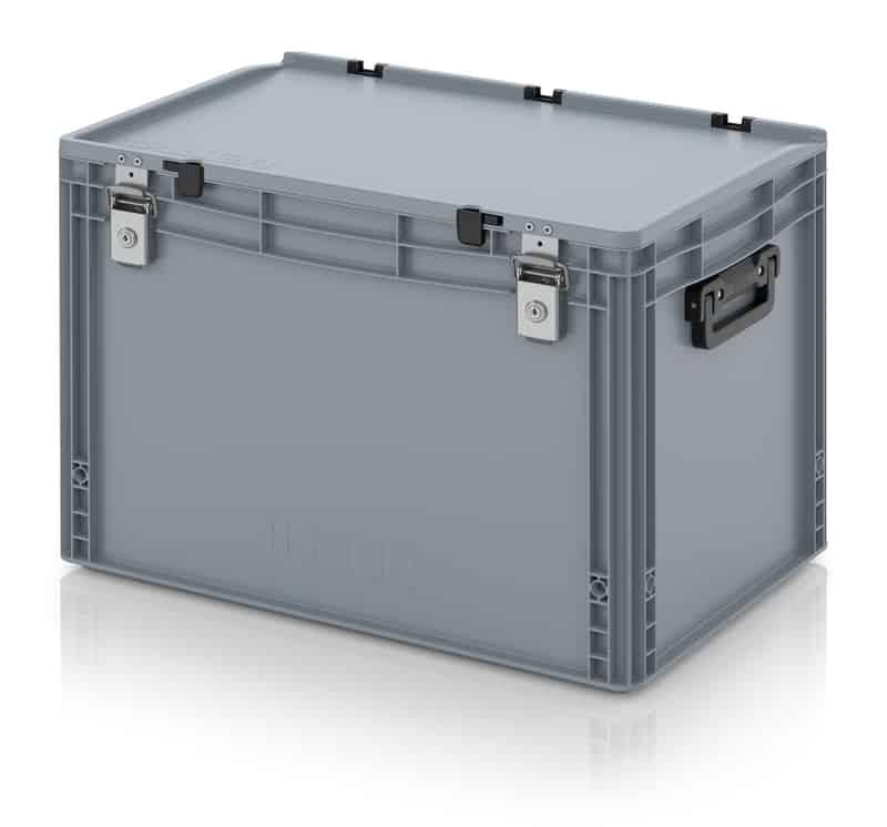 Eurobehälter / Eurobox Koffer mit Verschließsystem 2G 60 x 40 x 43,5 cm AUER packaging