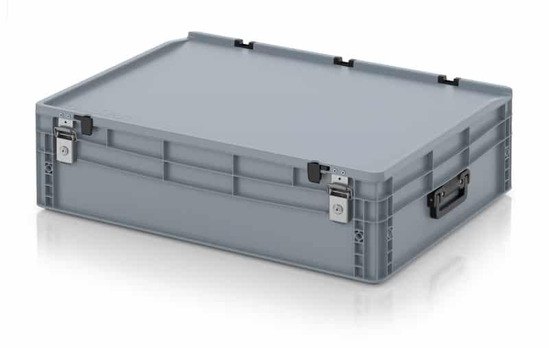 Eurobehälter / Eurobox Koffer mit Verschließsystem 2G 80 x 60 x 23,5 cm AUER packaging