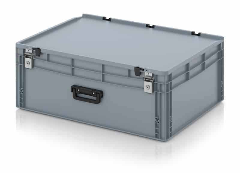 Eurobehälter / Eurobox Koffer mit Verschließsystem 1G 80 x 60 x 33,5 cm AUER packaging
