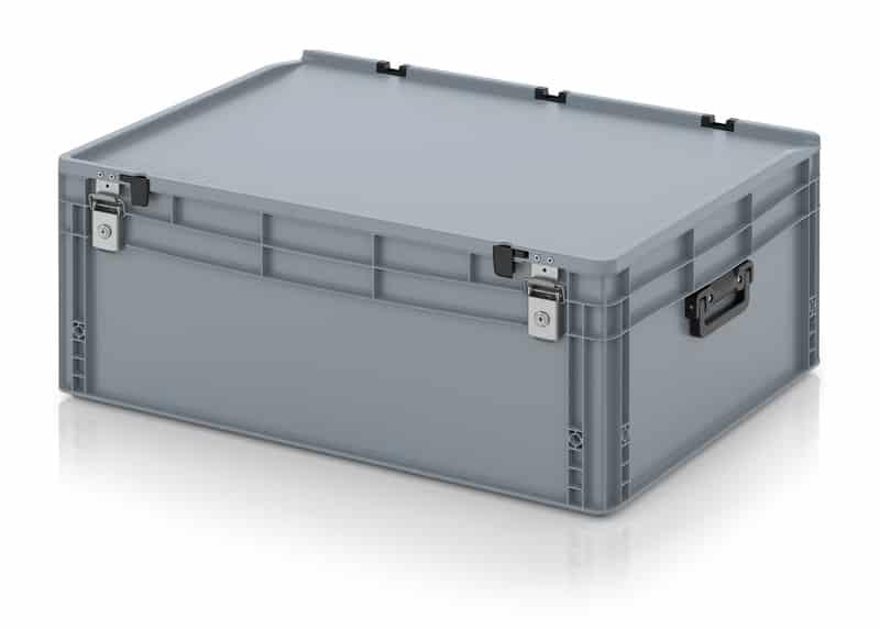 Eurobehälter / Eurobox Koffer mit Verschließsystem 2G 80 x 60 x 33,5 cm AUER packaging