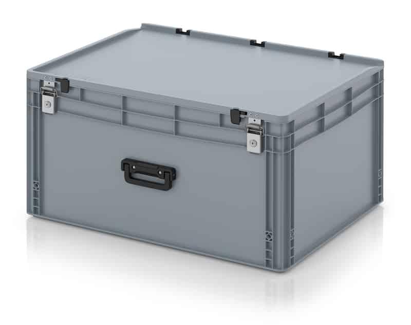 Eurobehälter / Eurobox Koffer mit Verschließsystem 1G 80 x 60 x 43,5 cm AUER packaging