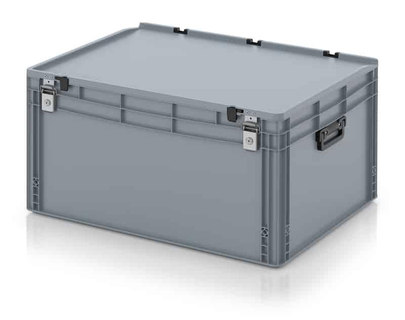 Eurobehälter / Eurobox Koffer mit Verschließsystem 2G 80 x 60 x 43,5 cm AUER packaging