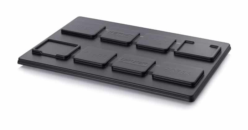 ESD-Paletten-Auflagedeckel Universell 122 x 82 cm AUER packaging