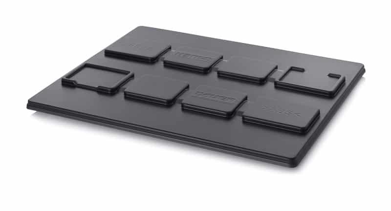 ESD-Paletten-Auflagedeckel Universell 122 x 102 cm AUER packaging