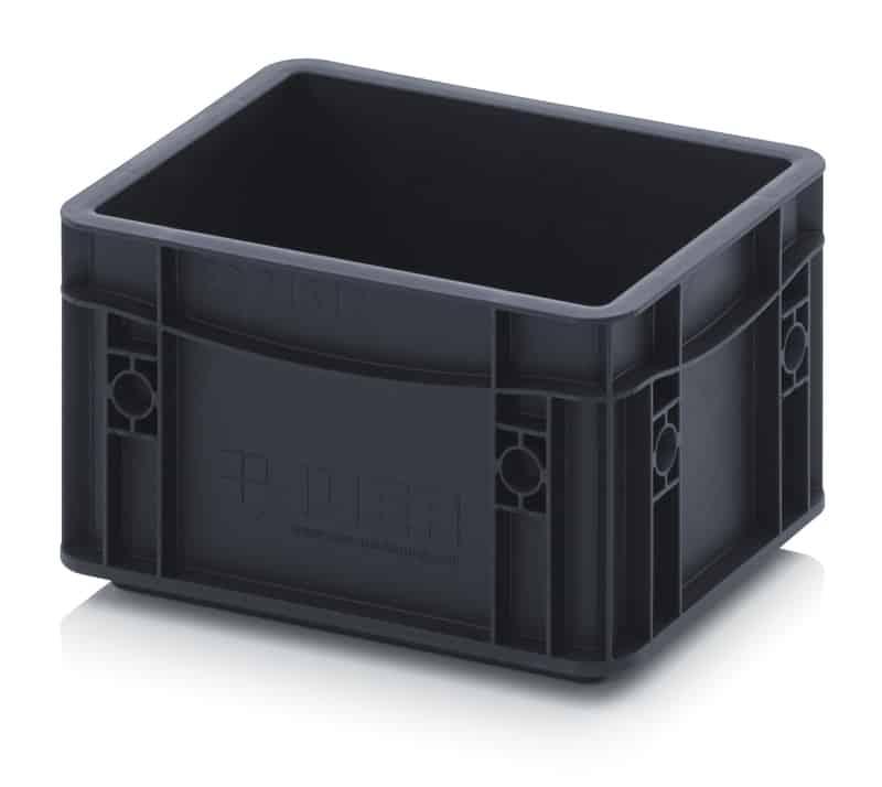 ESD-Eurobehälter / Eurobox 20 x 15 x 13,5 cm AUER packaging