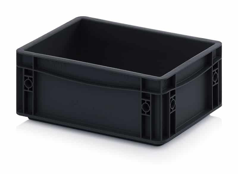ESD-Eurobehälter / Eurobox 30 x 20 x 12 cm AUER packaging