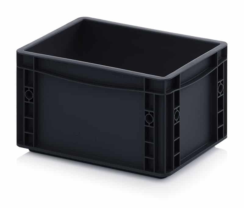 ESD-Eurobehälter / Eurobox 30 x 20 x 17 cm AUER packaging