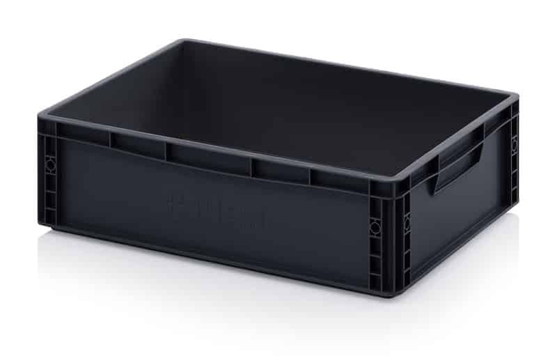 ESD-Eurobehälter / Eurobox 60 x 40 x 17 cm AUER packaging