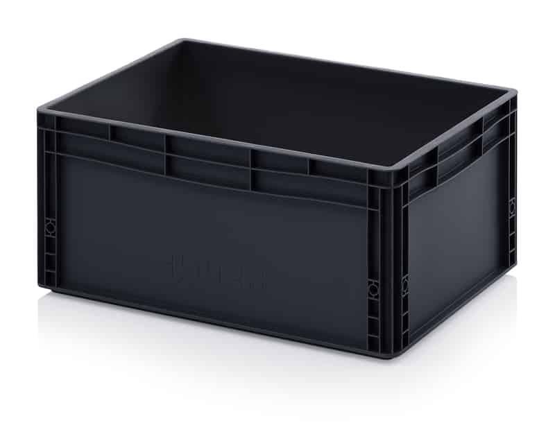 ESD-Eurobehälter / Eurobox 60 x 40 x 27 cm AUER packaging