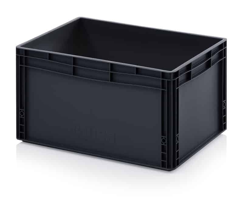 ESD-Eurobehälter / Eurobox 60 x 40 x 32 cm AUER packaging