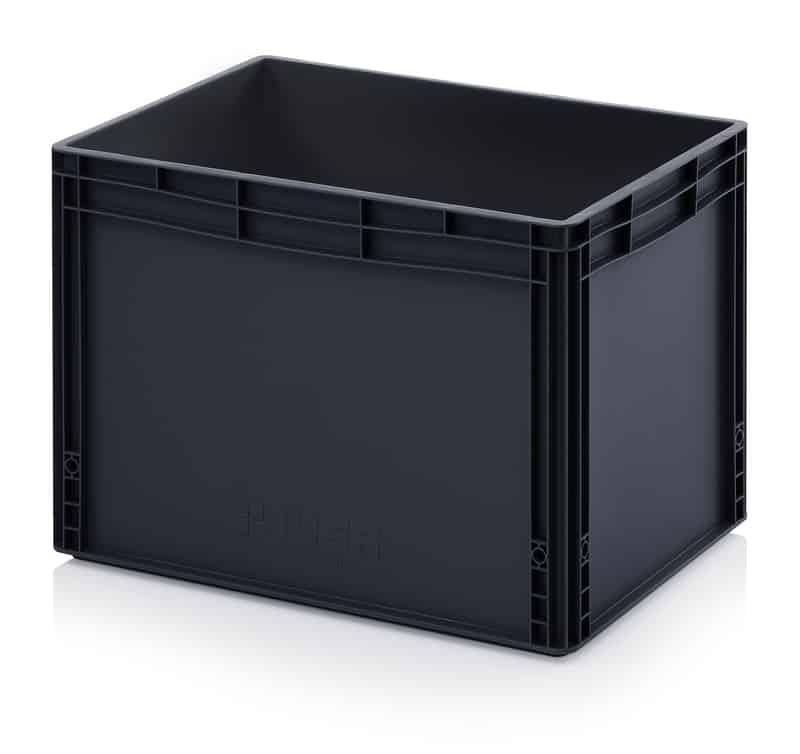 ESD-Eurobehälter / Eurobox 60 x 40 x 42 cm AUER packaging