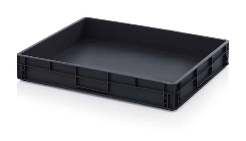 ESD-Eurobehälter / Eurobox 80 x 60 x 12 cm AUER packaging