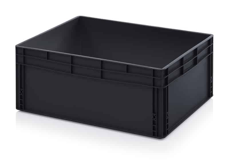 ESD-Eurobehälter / Eurobox 80 x 60 x 32 cm AUER packaging