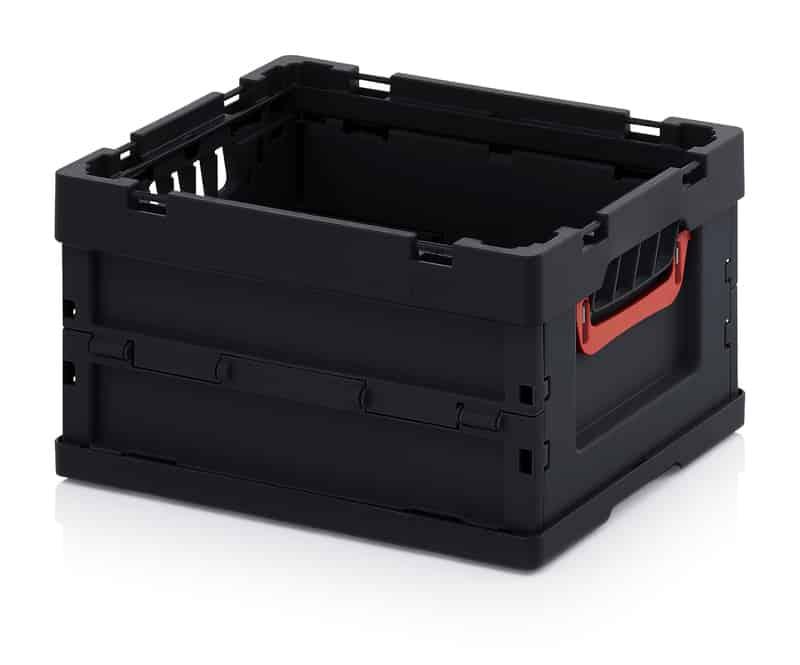 ESD-Faltbox ohne Deckel 40 x 30 x 22 cm AUER packaging
