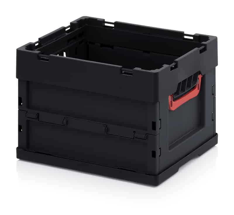 ESD-Faltbox ohne Deckel 40 x 30 x 27 cm AUER packaging