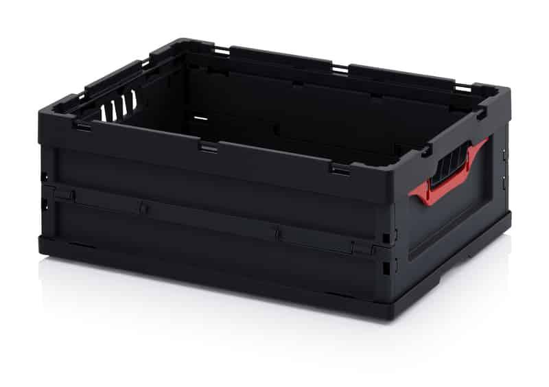 ESD-Faltbox ohne Deckel 60 x 40 x 22 cm AUER packaging
