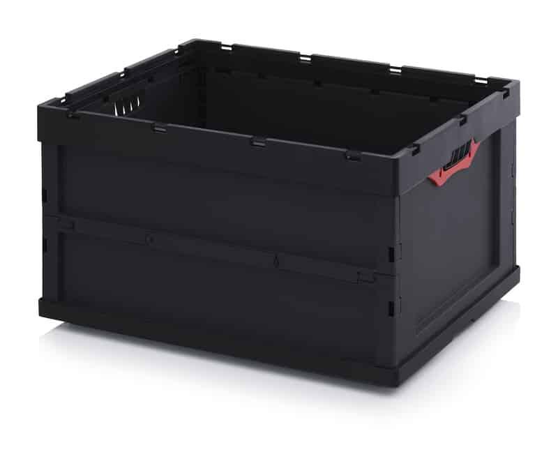 ESD-Faltbox ohne Deckel 80 x 60 x 44,5 cm AUER packaging