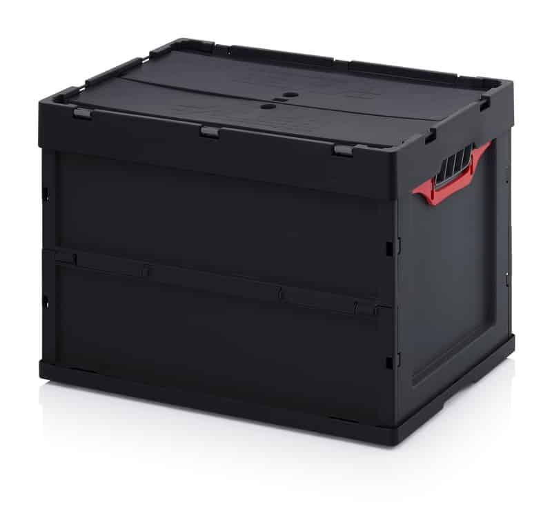 ESD-Faltbox mit Deckel 60 x 40 x 42 cm AUER packaging