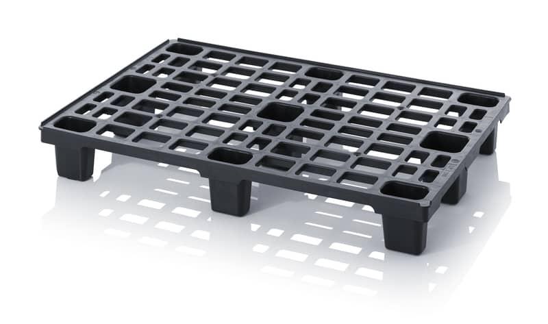 ESD-Leichtpalette mit Sicherungsrand 120 x 80 x 15,7 cm AUER packaging