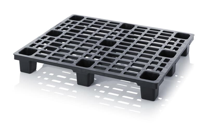 ESD-Leichtpalette ohne Sicherungsrand 120 x 100 x 15 cm AUER packaging